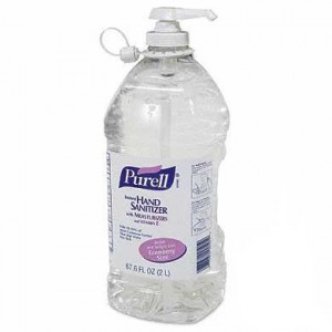 Goj 9625 04 Purell Hand Sanitizer Pump Bottle 2 L